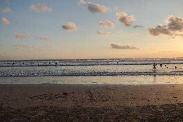 marée kuta beach