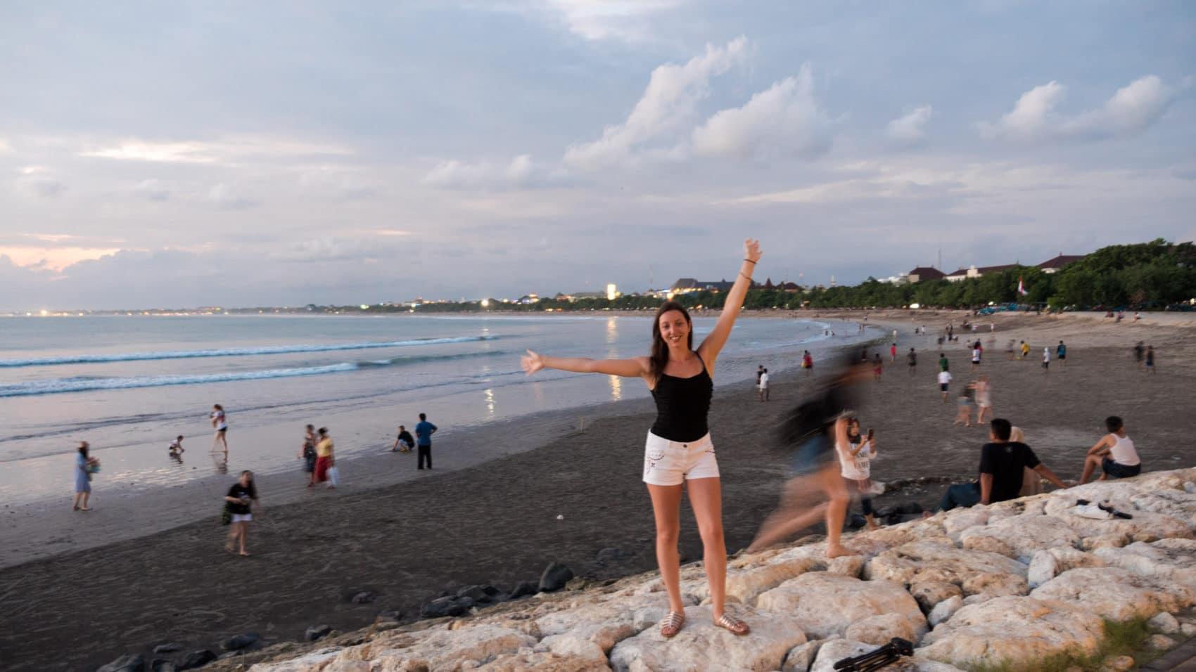 Kuta Beach à Bali