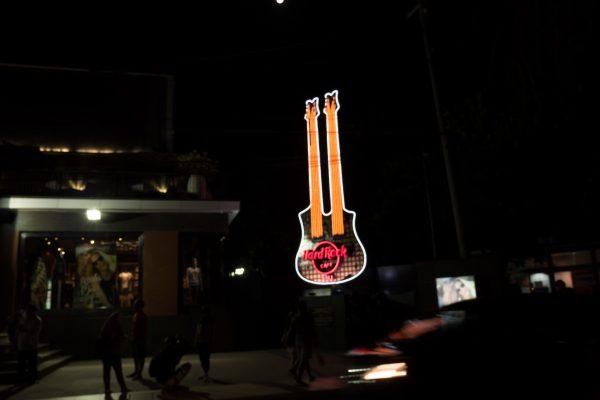 guitare hardrock cafe bali