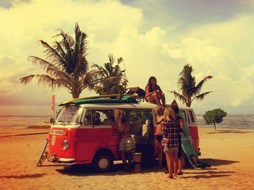 hippie kuta beach