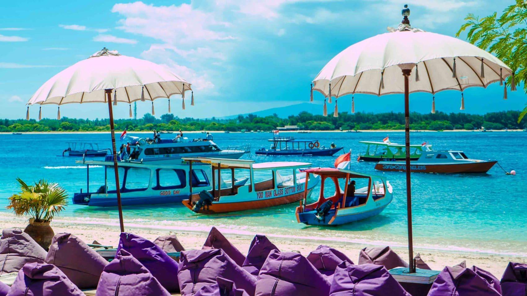 Comment se rendre à Gili Trawangan (et rejoindre votre hôtel) ?