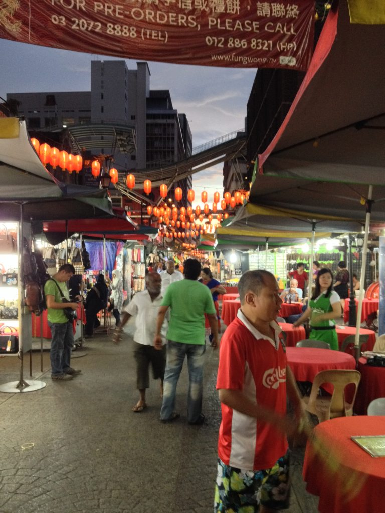 Chinatown : quartiers de Kuala Lumpur