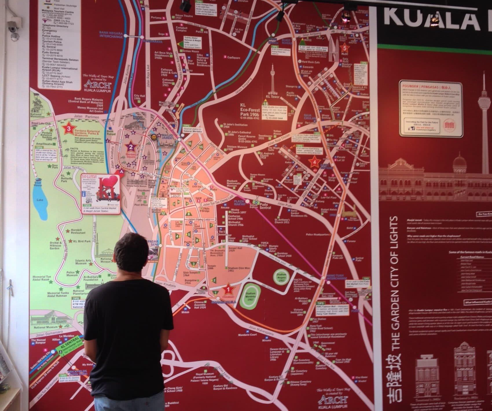 Se déplacer à Kuala Lumpur : tous les moyens de transports