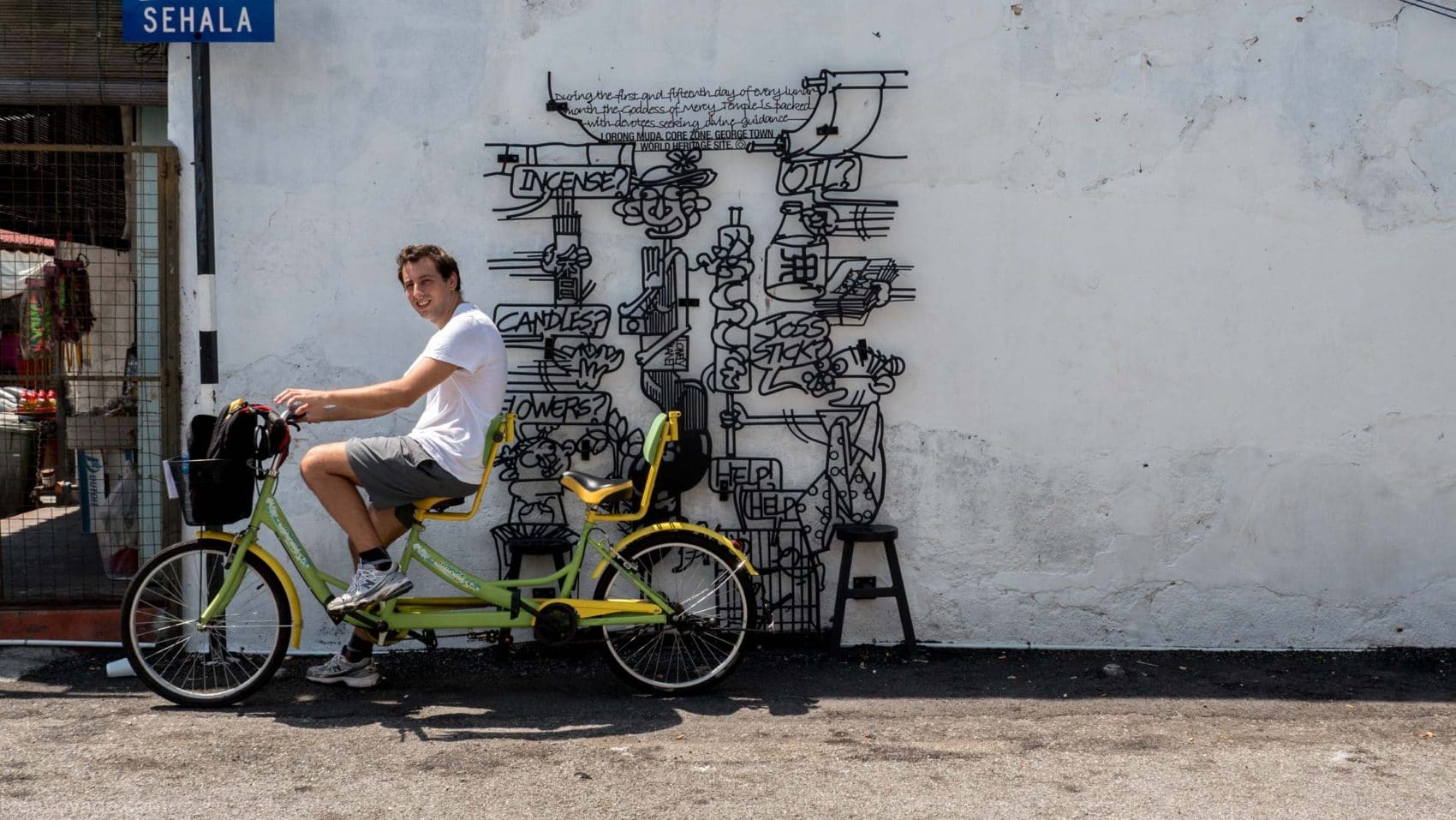 Etes-vous déjà parti à la conquête du Street Art à George Town ?