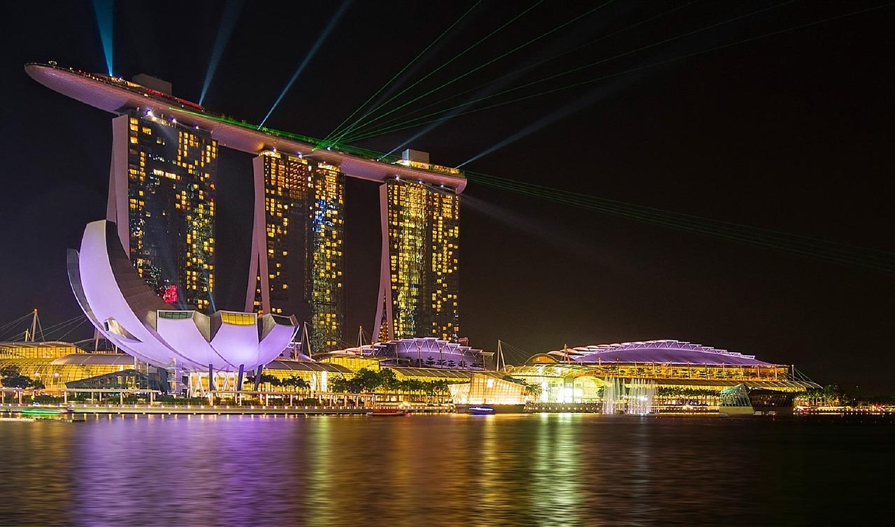 Notre arrivée à Singapour