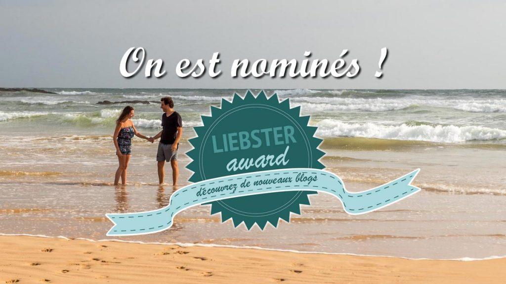 Lvenvoyage nominés au Liebter Award
