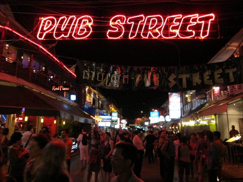 Pub Street Siem Reapa