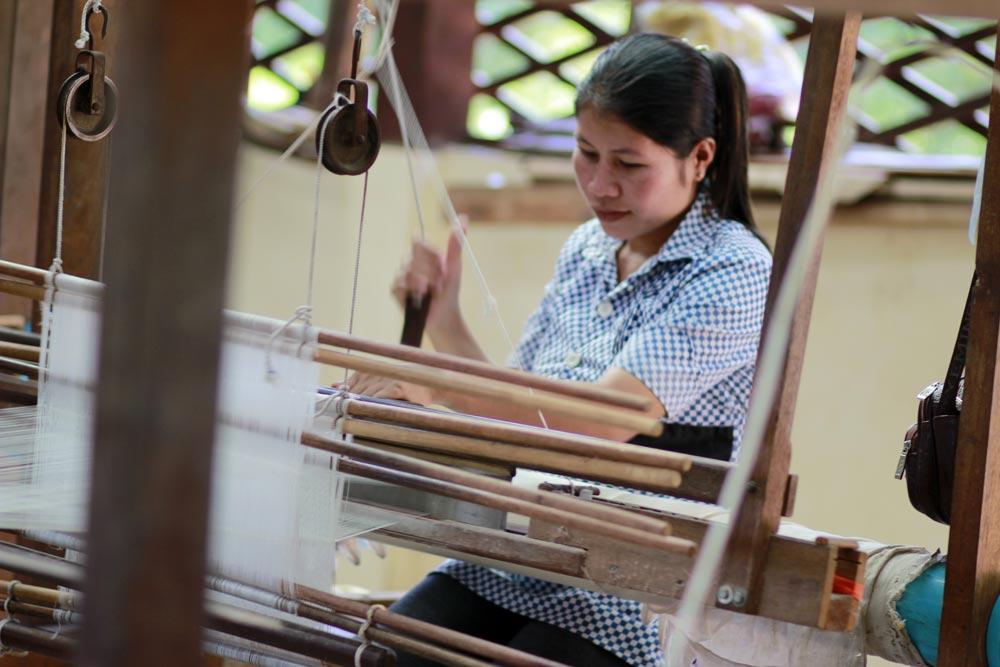 Ferme de soie Angkor