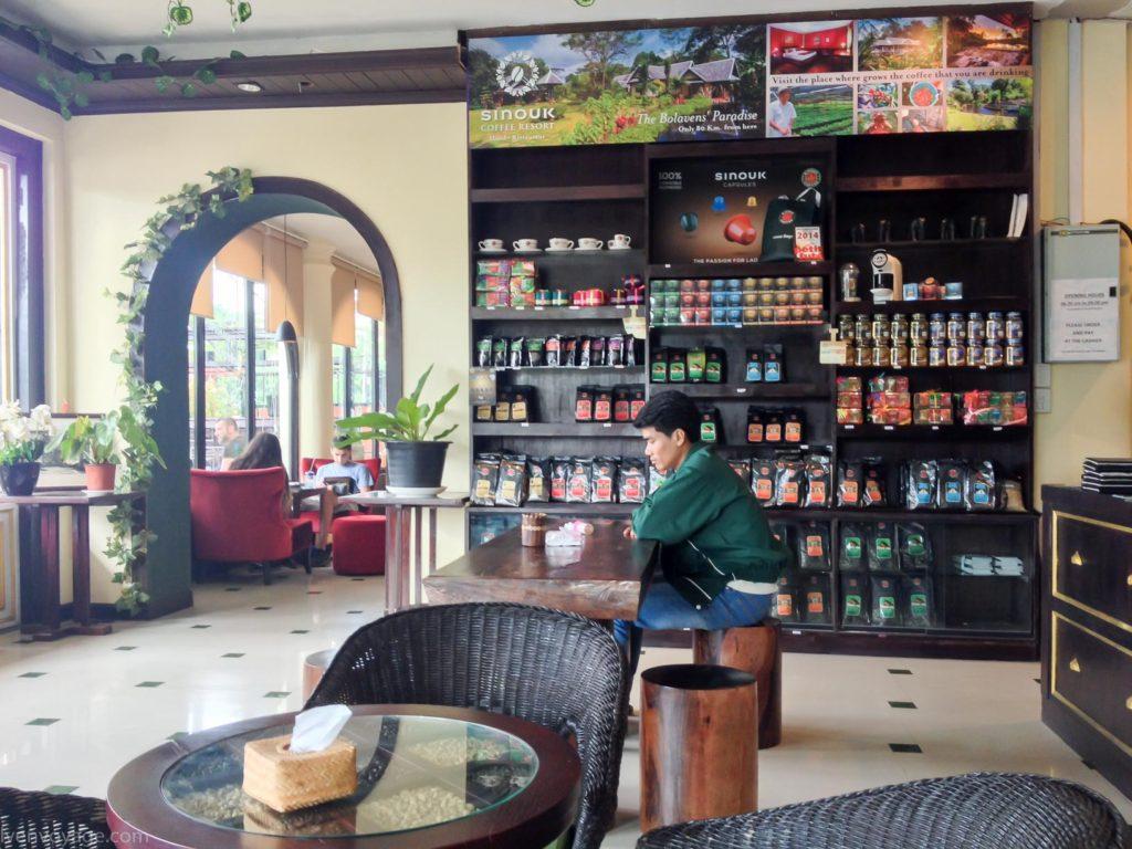 Café Sinouk PAKSE LAOS
