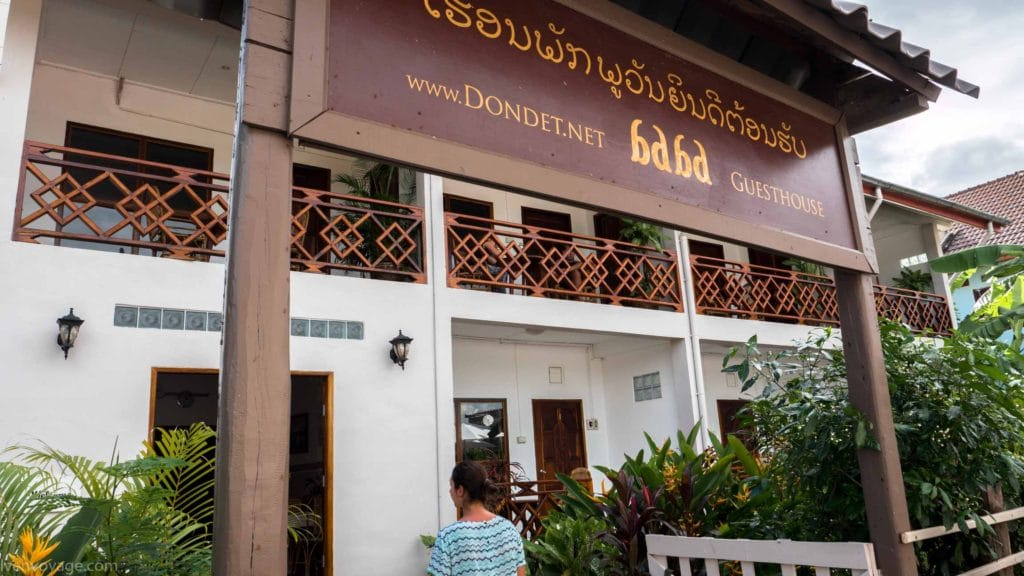 BABA GUESTHOUSE DON DET HOTEL LAOS 4000 ILES