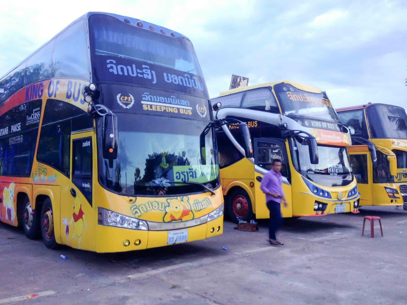 Paksé au Laos (2/2) : les trajets possibles (Vientiane, 4000 îles, Vietnam, Cambodge, Thaïlande)