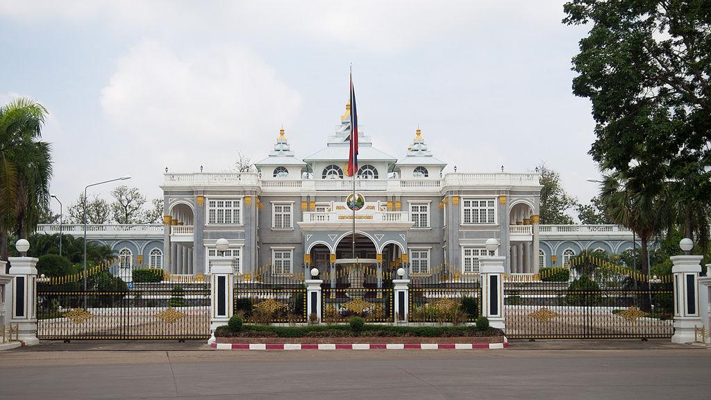 Presidential_palace_Vientiane LAOS