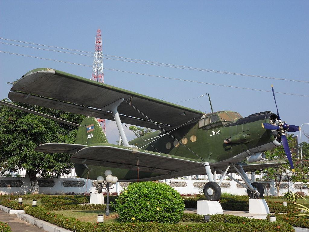 Antonov_An-2_Vientiane lao people's army museum laos