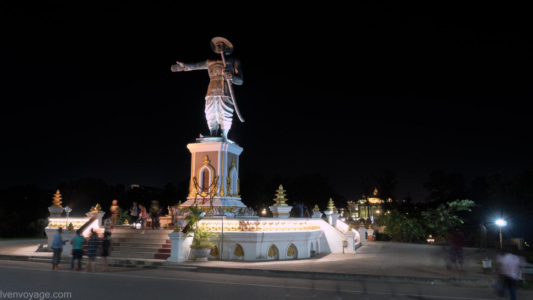Chao Anouvong Park VIENTIANE LAOS