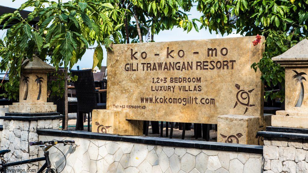 Ko Ko Mo Restaurant GILI TRAWANGAN INDONESIE