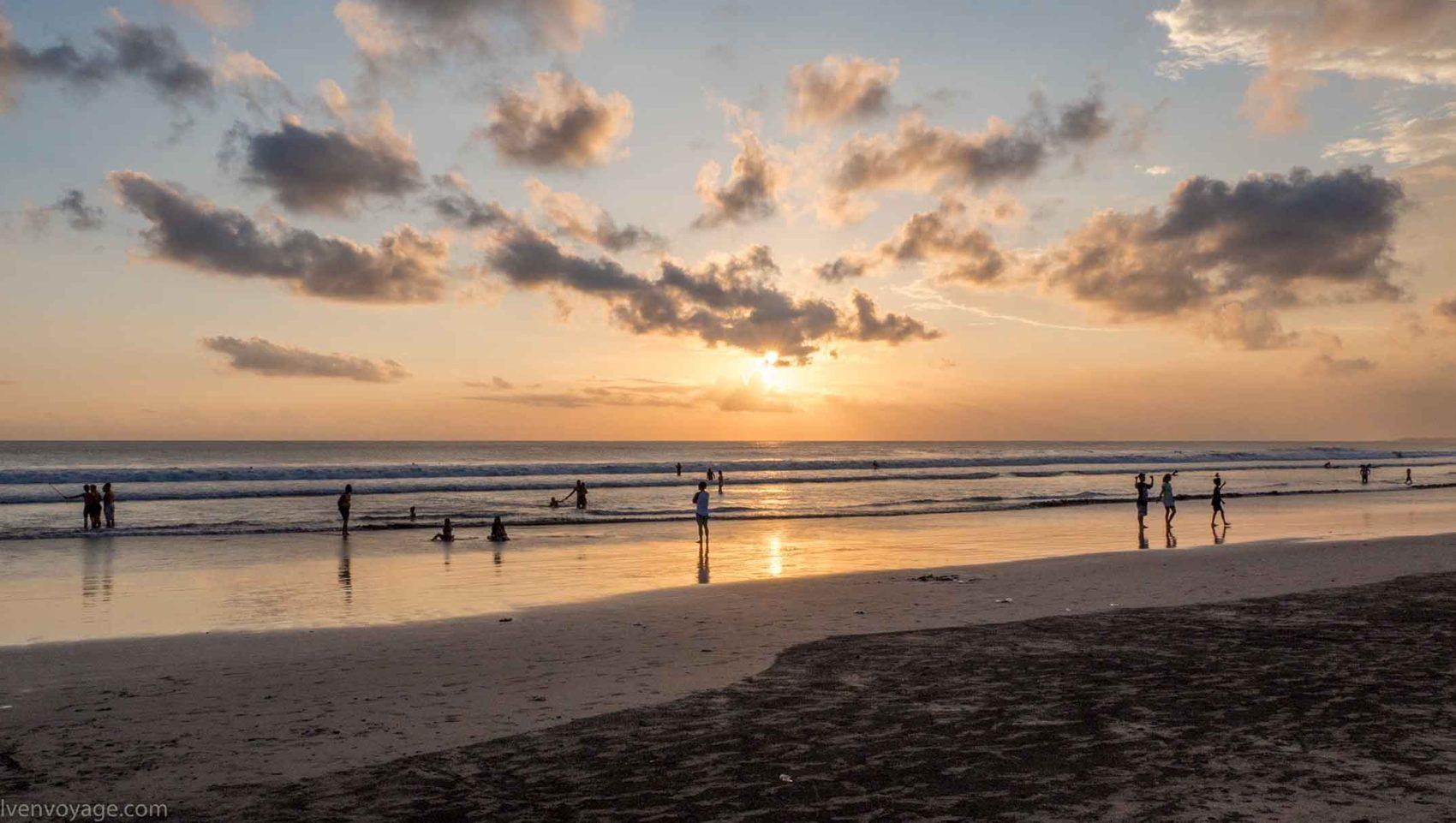 Kuta Beach, Indonésie