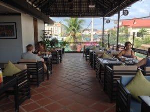 RESTAURANT LA DA KIRI HOTEL SIEM REAP CAMBODGE