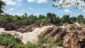 Chutes de Li Phi DON KHON 4000 ILES LAOS