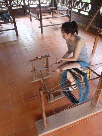 lao-textile-museum VIENTIANE LAOS